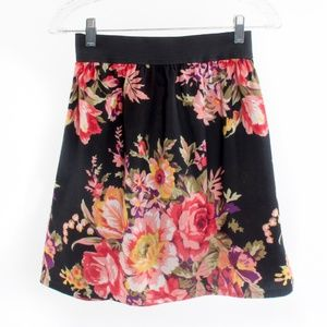 Fire of Los Angeles Floral Print Skirt